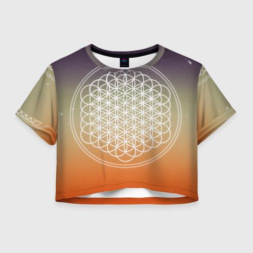 Женская футболка Cropp-top Bring Me The Horizon Фото 01