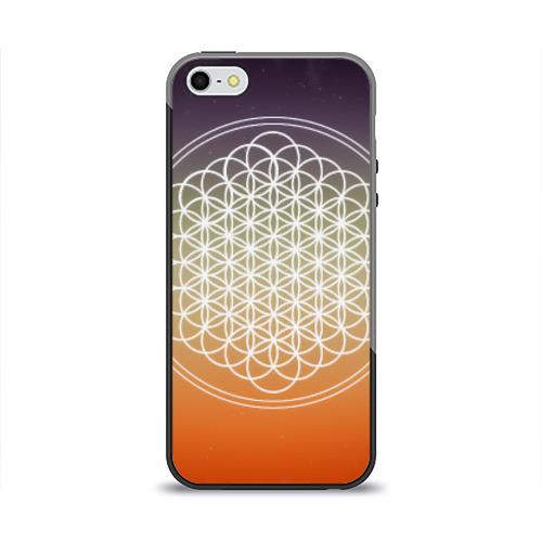Чехол для Apple iPhone 5/5S силиконовый глянцевый Bring Me The Horizon от Всемайки