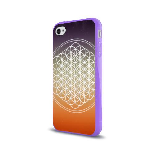 Чехол для Apple iPhone 4/4S силиконовый глянцевый Bring Me The Horizon Фото 01