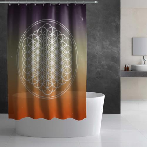 Штора 3D для ванной Bring Me The Horizon Фото 01