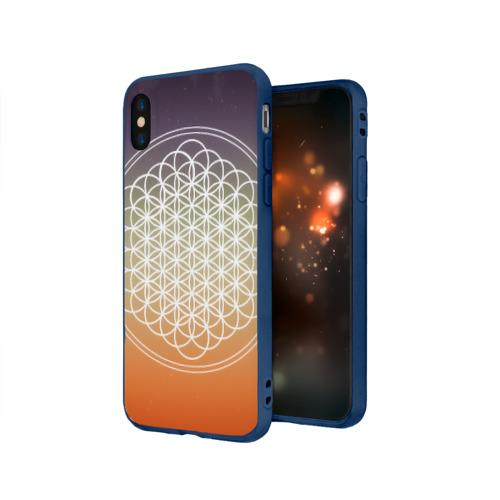 Чехол для Apple iPhone X силиконовый матовый Bring Me The Horizon Фото 01