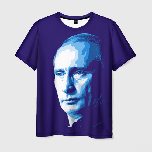 Мужская футболка 3D  Фото 03, Путин Владимир Владимирович