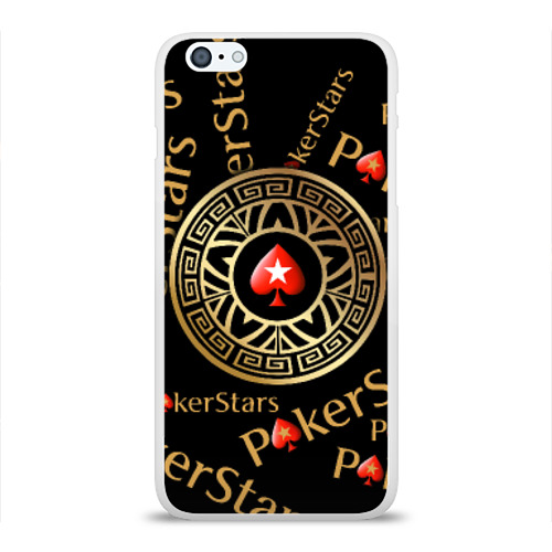 Чехол для Apple iPhone 6Plus/6SPlus силиконовый глянцевый  Фото 01, PokerStars