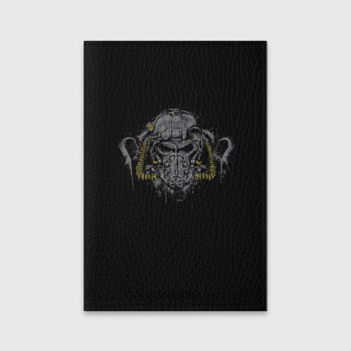 Обложка для паспорта матовая кожа  Фото 01, Силовая Броня Т-60