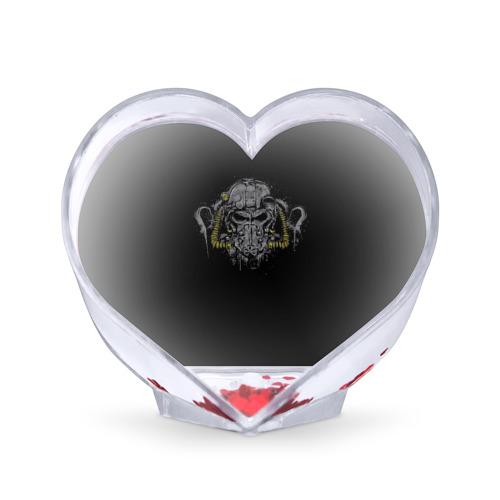 Сувенир Сердце Силовая Броня Т-60 от Всемайки
