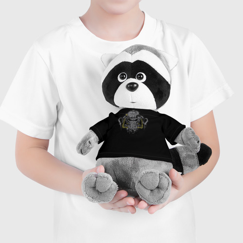 Енотик в футболке 3D  Фото 04, Силовая Броня Т-60