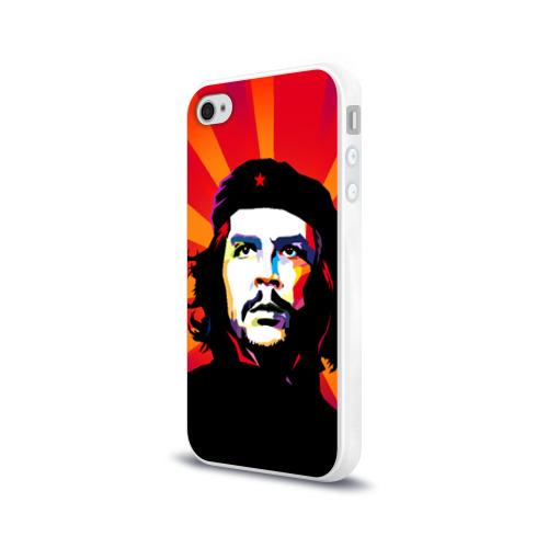 Чехол для Apple iPhone 4/4S силиконовый глянцевый  Фото 03, Че Гевара