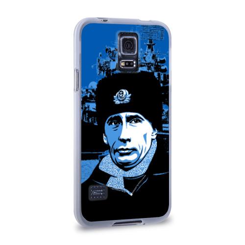 Чехол для Samsung Galaxy S5 силиконовый  Фото 02, Путин главнокомандующий