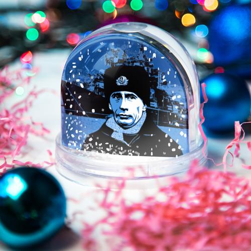 Снежный шар Путин главнокомандующий Фото 01