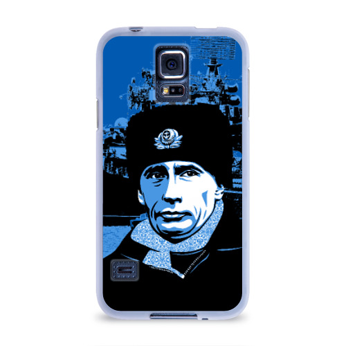 Чехол для Samsung Galaxy S5 силиконовый  Фото 01, Путин главнокомандующий