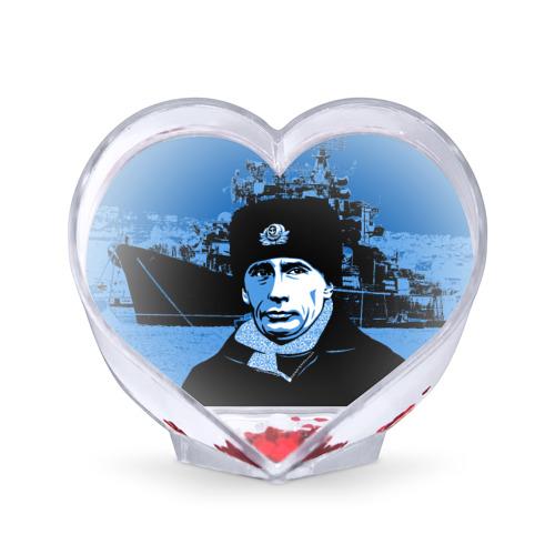 Сувенир Сердце Путин главнокомандующий Фото 01