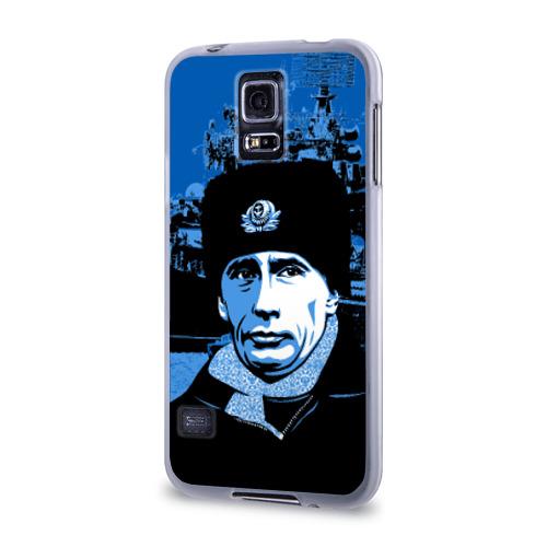 Чехол для Samsung Galaxy S5 силиконовый  Фото 03, Путин главнокомандующий