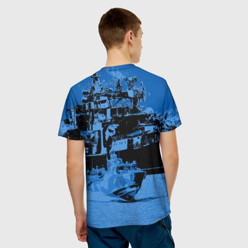Мужская футболка 3D  Фото 02, Путин главнокомандующий