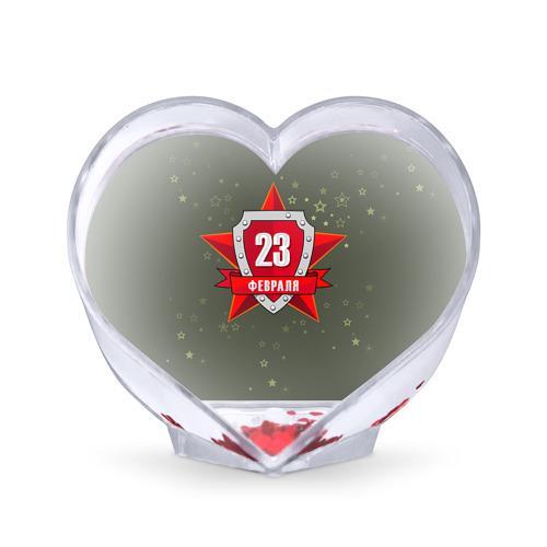 Сувенир Сердце  Фото 01, 23 февраля