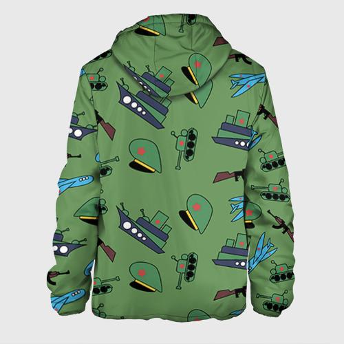 Мужская куртка 3D  Фото 02, Паттерн