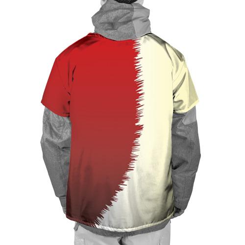 Накидка на куртку 3D  Фото 02, Серп и молот