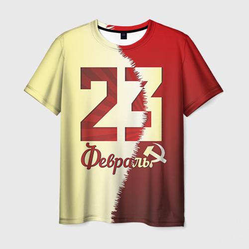 Мужская футболка 3D  Фото 03, Серп и молот