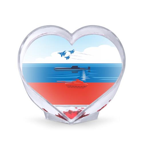 Сувенир Сердце Сувенир Сердце Триколор России от Всемайки
