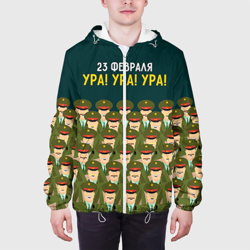 Мужская куртка 3D  Фото 04, Ура Ура Ура