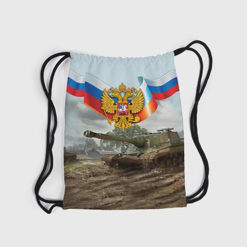 Рюкзак-мешок 3D  Фото 04, Танк и символика РФ
