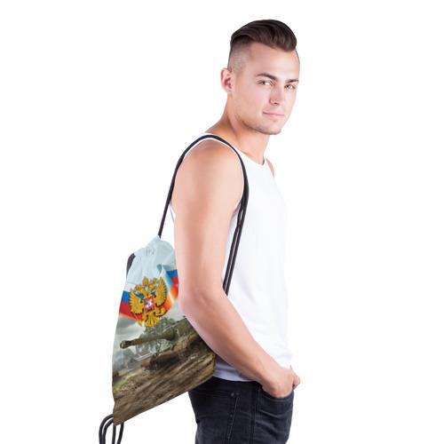 Рюкзак-мешок 3D  Фото 03, Танк и символика РФ