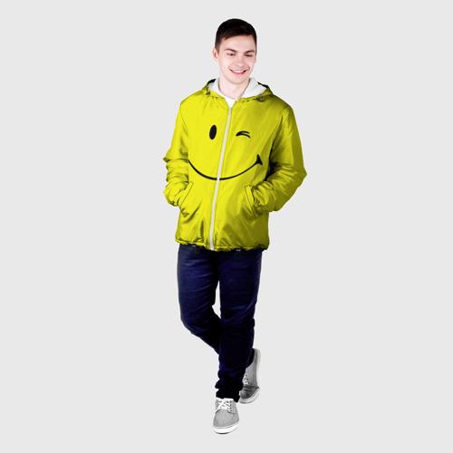 Мужская куртка 3D  Фото 03, Смайл