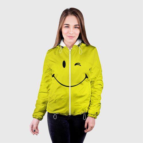 Женская куртка 3D  Фото 03, Смайл