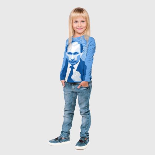 Детский лонгслив 3D  Фото 04, Путин Владимир Владимирович