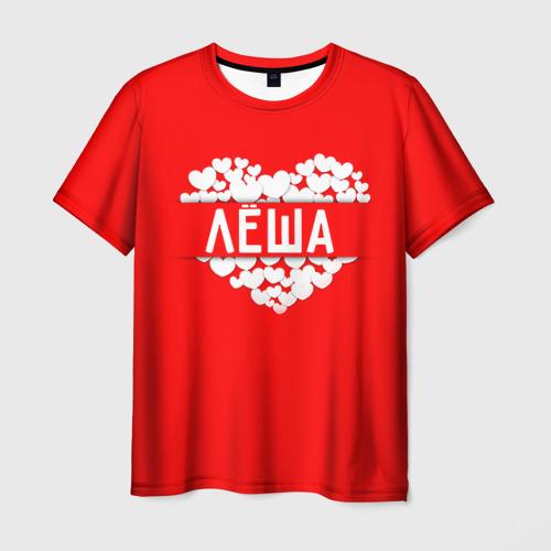 Мужская футболка 3D  Фото 03, Лёша