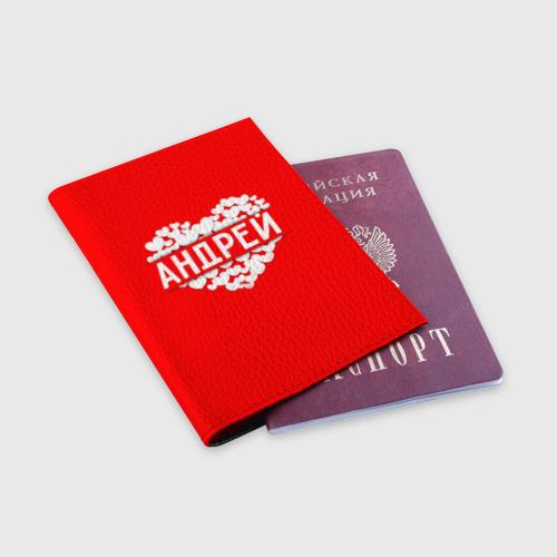 Обложка для паспорта матовая кожа  Фото 03, Андрей