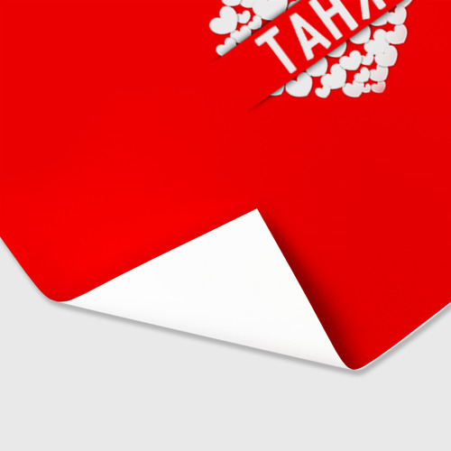 Бумага для упаковки 3D Таня Фото 01