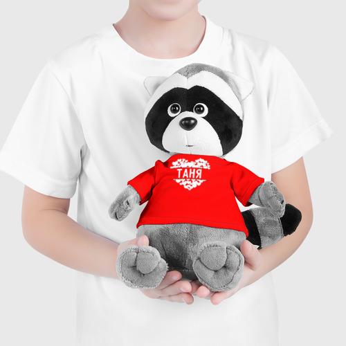 Енотик в футболке 3D Таня Фото 01