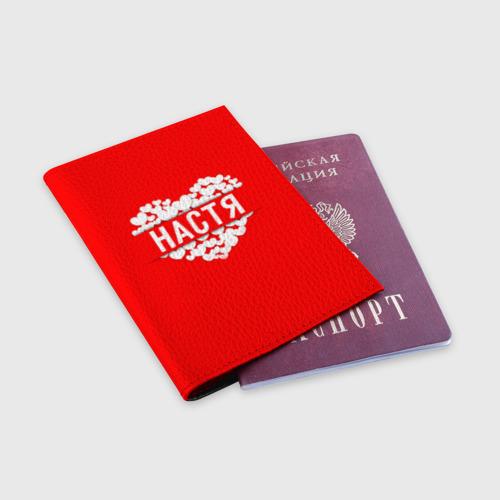 Обложка для паспорта матовая кожа  Фото 03, Настя