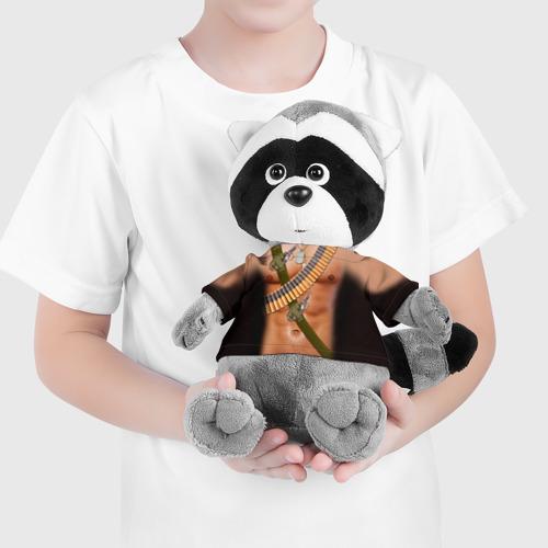 Енотик в футболке 3D  Фото 04, Солдат