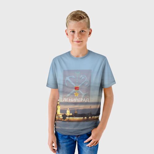 Детская футболка 3D Город-герой Ленинград