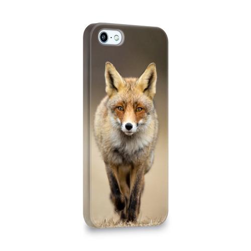 Чехол для Apple iPhone 5/5S 3D  Фото 02, Лиса бежит