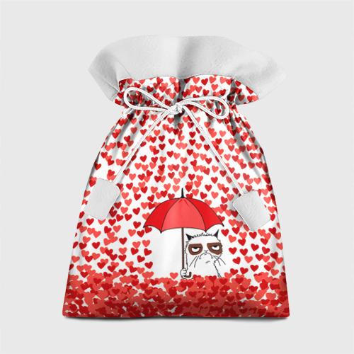 Подарочный 3D мешок Сердцепад