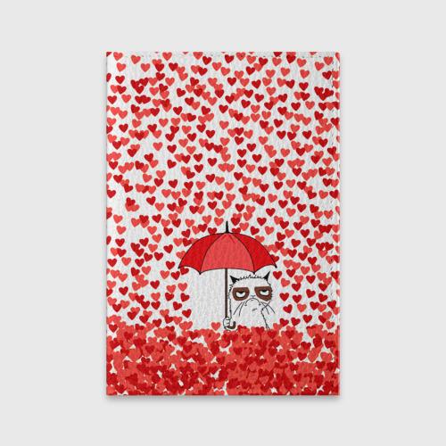 Обложка для паспорта матовая кожа  Фото 01, Сердцепад