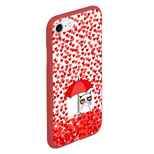 Чехол для iPhone 7/8 матовый Сердцепад Фото 01