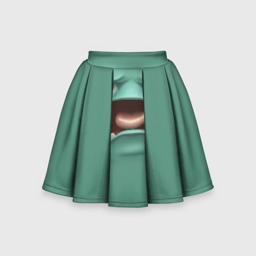 Детская юбка-солнце 3D Пластилиновый смайл