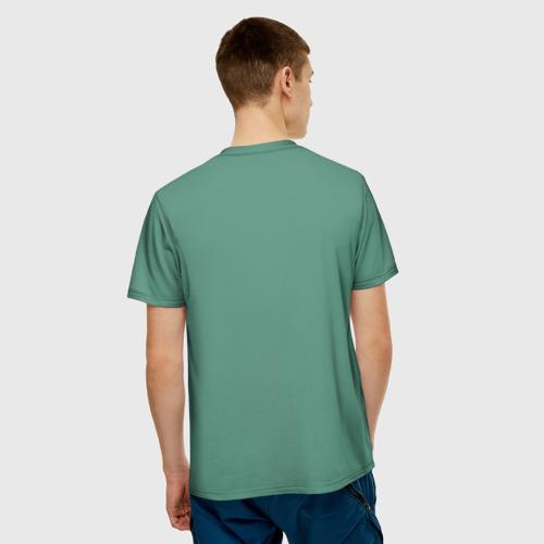 Мужская футболка 3D  Фото 02, Пластилиновый смайл