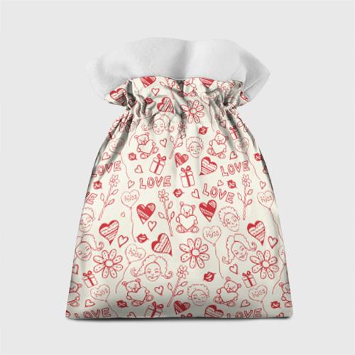 Подарочный 3D мешок  Фото 02, Любовь