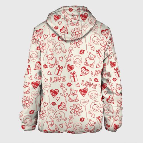 Мужская куртка 3D  Фото 02, Любовь