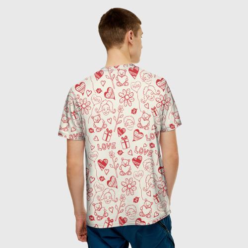 Мужская футболка 3D  Фото 02, Любовь