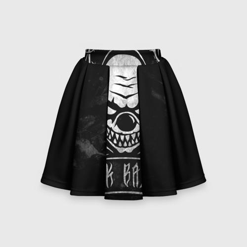 Детская юбка-солнце 3D Клоун