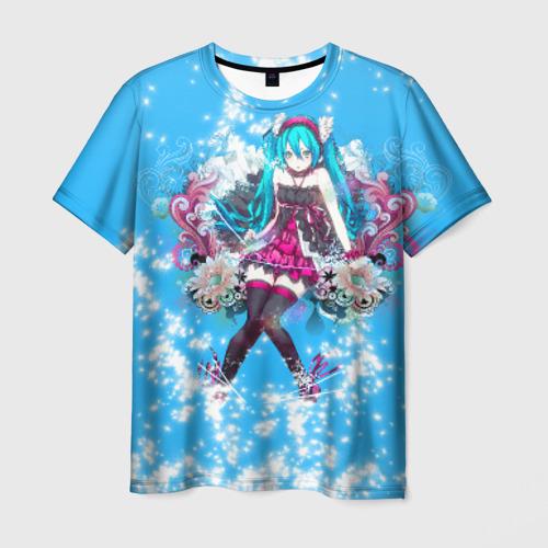 Мужская футболка 3D  Фото 03, vocaloid