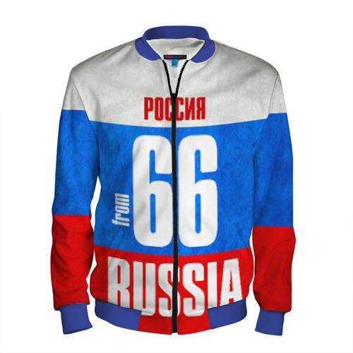 Мужской бомбер 3D Russia (from 66)