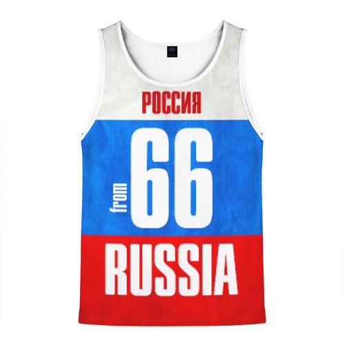 Мужская майка 3D Russia (from 66)