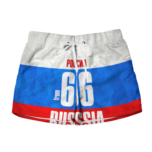 Женские шорты 3D Russia (from 66)