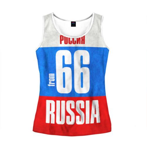 Женская майка 3D Russia (from 66)